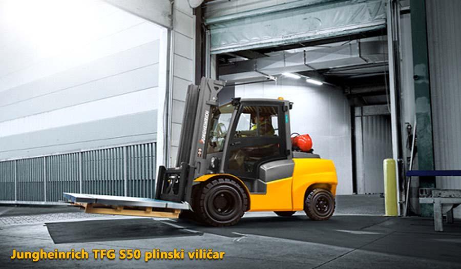 Jungheinrich TFG S50 plinski viličar